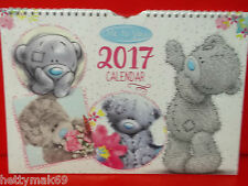 ME TO YOU/TATTY TED '2017' A4 FAMILY ORGANISER/CALENDAR.NOW IN STOCK