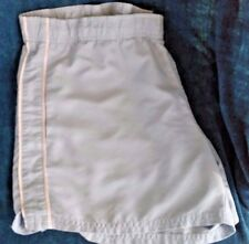Reebok Women's Shorts Size M Blue Polyester Fitness Running Athletic 3 Pockets