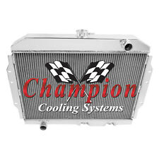 1968-1974 American Motors AMX Aluminum 3 Row Champion Radiator