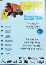 Puncturesafe Tyre Sealant Heavy Duty, Caravans, Trailers, Off Road  2 x 1 litres