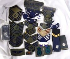 100+ US Air Force Badges Rank Patches Epaulets Pins Front  WWII
