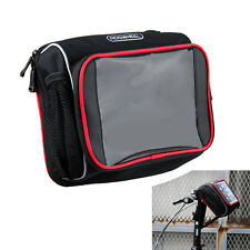 """New Bike Bicycle Cycling Front Handlebar Bag Pouch for 7"""" 8"""" Tablet Phone Holder"""