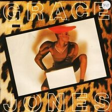 """GRACE JONES the hunter gets captured by the game WIP 6645 uk island 7"""" PS EX/EX"""