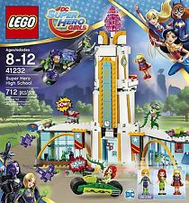 NEW LEGO DC Super Hero Girls Super Hero High School 41232 Poison Ivy Supergirl