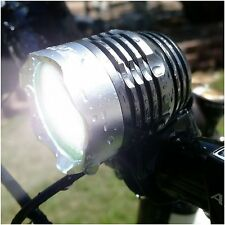 ONE WEEK !!!! BRIGHT EYES BIKE BICYCLE HEAD LIGHT 1200 LUMENS