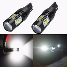 JDM ASTAR 2x 50W CREE 921 912 T10 T15 LED 6000K White Backup Reverse Lights Bulb