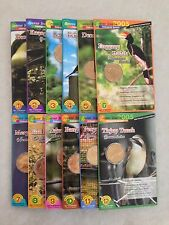 (JC) Endangered Bird Malaysia Coin Card Full Set ( No. 1 to 12) 2005