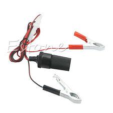 12V Car Battery Terminal Clip-on Cigarette Lighter Power Socket Adapter Adaptor