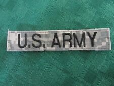 U S Army Name Tape Multicam Patter Military Patch - Used - Stick On