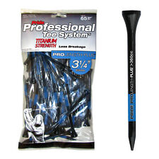 Pride PTS Titanium Golf Tees 3 1/4in Tees x 65 Extra Strength Less Breakage