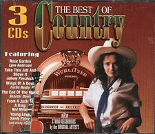 Best of Country - 3 CD Set ~ Various Artists ~ Used VG