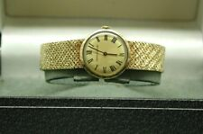 1970's Ladies Solid 9ct Gold Jaeger LeCoultre Bracelet Watch