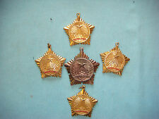 """VIETNAM WAR 5 VC MEDALS """" KHANG CHIEN """" WITHOUT RIBBON"""