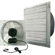 "NEW! J&D ES Shutter Fan 20""-Indoor/Outdoor-115V-1PH-3 Speed-Aluminum Shutters!!"