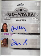 "2013 POP CENTURY CO-STARS AUTO: LES GOLD/ASHLEY BROAD -AUTOGRAPH ""HARDCORE PAWN"""