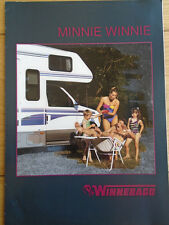 Winnebago Minnie Winnie Motorhome range brochure c1995 German text + price list
