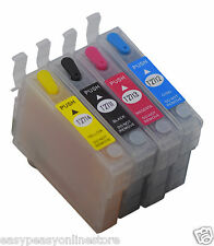 Refillable Ink Cartridges Epson Workforce Pro WF-640DTWF WF-7110DTW WF-7610DWF