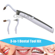 Multifunction Sonic LED Dental Tool Kit Oral Tooth Stain Eraser & Plaque Remover