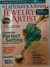 LAPIDARY Journal JEWELRY ARTIST Magazine Create The PERFECT SETTING JAN-Feb 2013