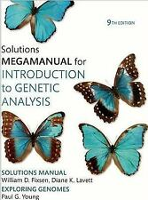 Introduction to Genetic Analysis Solutions MegaManual, William Fixen, Good Book