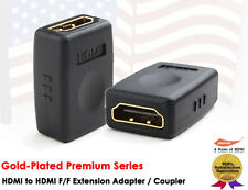 YellowKnife- Premium Gold Plated HDMI Female to HDMI Female Extension Coupler