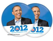 BARACK OBAMA 2012 For PRESIDENT Photo Campaign Button