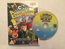 1 BOXED NINTENDO Wii VIDEO GAME CARTOON NETWORK  CN PUNCH TIME EXPLOSION XL PAL
