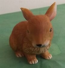 Vintage Lefton Brown Rabbit Figurine 1984 New