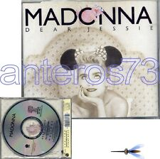 "MADONNA ""DEAR JESSIE"" RARE CD SINGLE MADE IN GERMANY 1989"