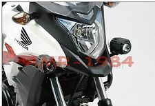 KIT STAFFE HONDA CB500 X per  FARETTI ALOGENI HAWK FOG LIGHT MOTO NSW0100410400/