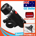 BIKE FRONT BICYCLE LED TORCH REAR CYCLING FLASHLIGHT WATERPROOF LIGHT