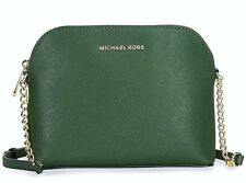 MICHAEL KORS BAG/Shoulder bag CINDY LG CROSSBODY Saffiano moos NEU