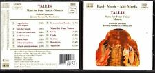 CD 1204  TALLIS  MASS FOR FOUR VOICES  MOTETS