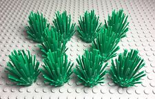 Lego New Bulk Lot Of Green Plants Bush X10 Prickly Bushes