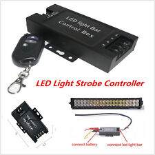 12-24V LED Light Bar Battery Box Flash Strobe Controller With Wireless Remote