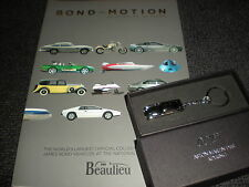 JAMES BOND SKYFALL - BOND IN MOTION BOOK &  DB5 KEY CHAIN - CASINO ROYALE