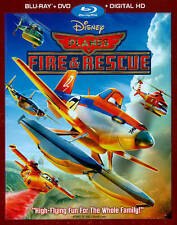 NEW - Planes Fire and Rescue (2-Disc Blu-ray +DVD + Digital HD)