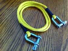 Yellow Scale RC Rock Crawler Tow Rope With Shakles RC4WD