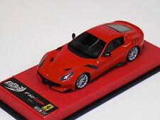 1/43 BBR Ferrari F12 TDF 2015 in Rosso Corsa leather base Lim 200 pcs