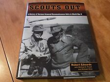 SCOUTS OUT A HISTORY GERMAN ARMORED RECONNAISSANCE UNITS WORLD WAR II Book NEW