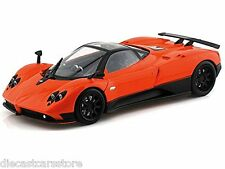 MOTORMAX PAGANI ZONDA F ORANGE 1/18 DIECAST CAR 79159
