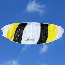 New 55in 1.4m Dual line Power Stunt Parafoil Parachute Sports Beach Kite Surfing