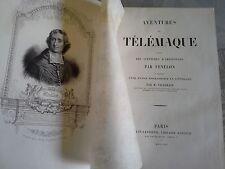 Les aventures de Télémaque, suivies d'Aristonous, Fenelon, Belin-Leprieur 1844