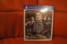 NEW! Sleeping Dogs -- Definitive Artbook Edition (Sony PlayStation 4, 2014) PS4