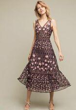 NWT Anthroologie Tansey Tulle Midi Dress By Moulinette Soeur - Size  2