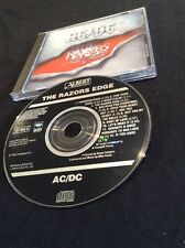 AC/DC THE RAZORS EDGE CD BLACK  ALBERT PRODUCTIONS  467462 2 RARE SONY AUSTRALIA
