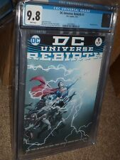 DC Universe Rebirth #1 CGC 9.8 1st Pint Upgraded Slab Justice League