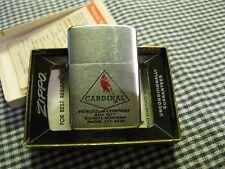 VINTAGE ZIPPO CARDINAL PETROLEUM COMPANY LIGHTER LIGHTER 1963
