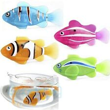 4pcs Swimming Robot Fish Activated in Water Magical Electronic Toy Kids