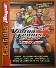 Míni Guía para Virtua Tennis 4 Edición World Tour (PSVITA) Marca Player